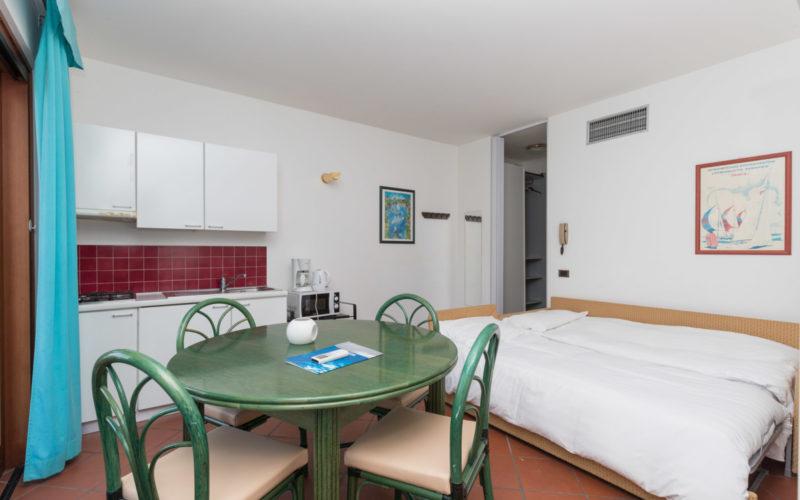 appartamento bilocale per quattro persone