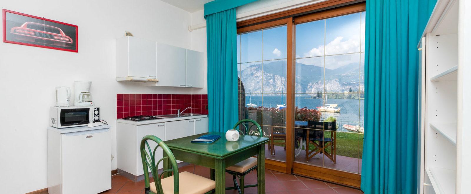 interno appartamento monolocale